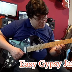 Easy Gypsy Jazz Guitar Lick (with tabs) #1