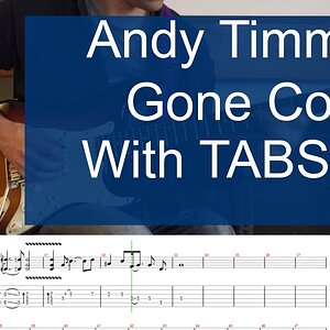 Andy Timmons Gone Guitar cover with tabs