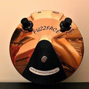 Dunlop Joe Bonamassa Fuzz Face 2012 Limited Edition Run