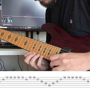 Kiesel Guitar Contest My Solo Lesson with TABS