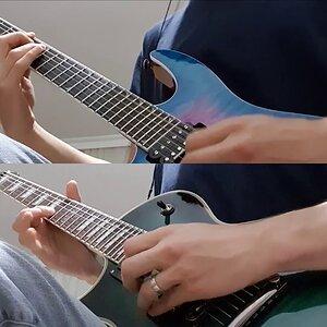 in flames - jotun guitar cover