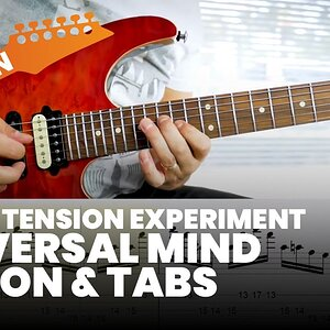 Liquid Tension Experiment - Universal Mind Lesson & Tab