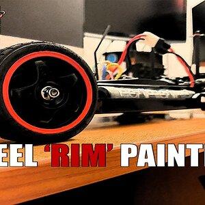 Rc Car Rim Painting (uyku öncesi izlemelik bir çalışma) Arkada çalan parça benim cover ım olur.
