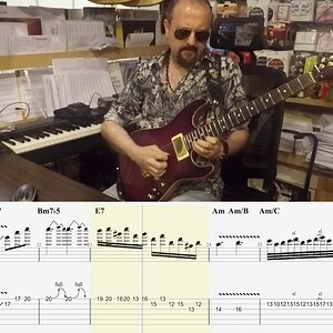 Still Got The Blues-(Martin Miller&Andy Timmons Cover)Tab Tutorial transcription by Arif DenizToker