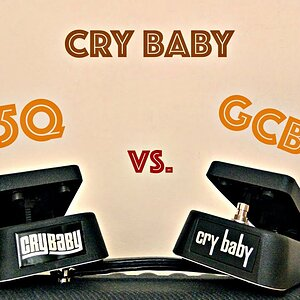 Comparison 5: CRY BABY 95Q vs. CRY BABY GCB-95