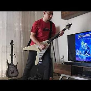 Megadeth - Holy Wars Guitar Playthrough