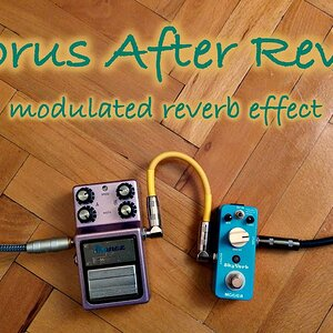Experimental #2: Chorus After Reverb = Modulated Reverb Effect