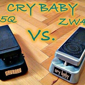 Comparison #6: Cry Baby 95Q vs. Cry Baby Zakk Wylde ZW45 Wah