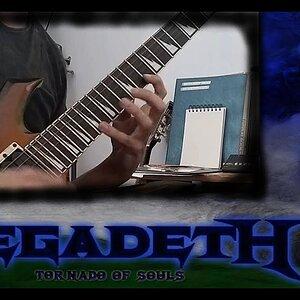 Megadeth - Tornado Of Souls (Guitar Solo Cover)