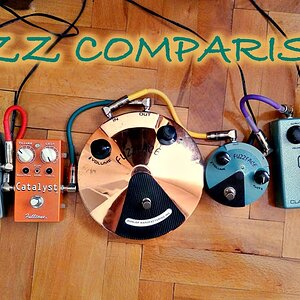 Comparison #7: Fuzz Pedals (Fuzz Faces, Boss FZ-2, Fulltone Catalyst)