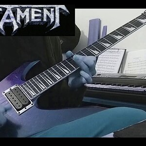 Testament - Souls Of Black (Guitar Solo Cover)