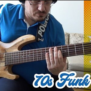 70s Funk Bass Lick (with TABS) #1