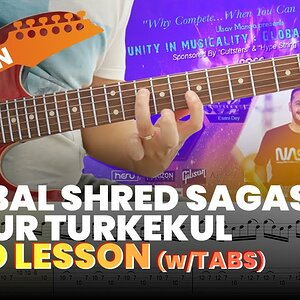 Global Shred Sagas - Ozgur Turkekul Guitar Solo Lesson