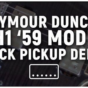Seymour Duncan Sh1 '59 Model Neck Pickup Demo