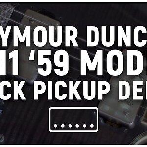 Seymour Duncan Sh1 '59 Model Neck Pickup Demo
