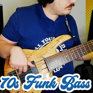 70s Funk Bass Lick (with TABS) #2