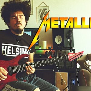 Metallica - Master Of Puppets Solo Cover