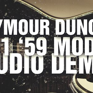 Seymour Duncan Sh-1 '59 Model Neck Pickup Demo