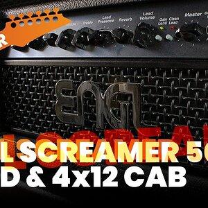 Engl Screamer 50 Head & 4x12 Cab Test