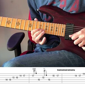 Dream Theater - Overture 1928 Solo Lesson (with Tab)