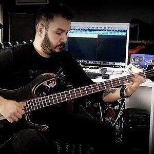 Jazz Funk Bass improvisation-by Gökhan Yumuşakdemir ( Slap Bass-Double Thumb-Finger Bass Techniques)