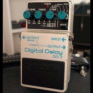 Boss DD-2 Digital Delay / 1986 Made in Japan