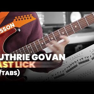 Guthrie Govan Fast Lick with Tabs