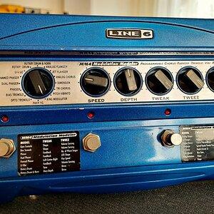 Line 6 MM4 Modulation Modeler (Recorded STEREO)