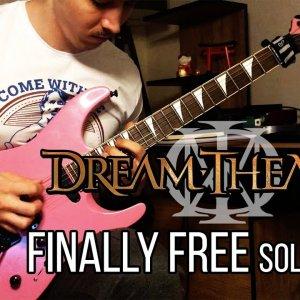 Dream Theater - Finally Free Solo Cover