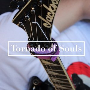 Tornado of Souls solo cover