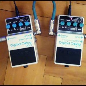Comparison #14: Boss DD-2 Digital Delay vs. Boss DD-3 Digital Delay