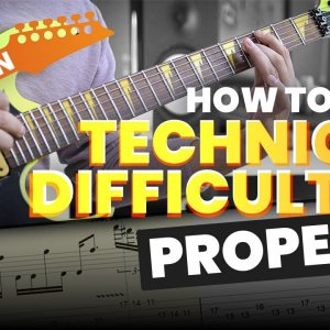 How to play Technical Difficulties Properly! (with Tabs)