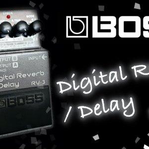 Boss RV-3 Digital Reverb / Delay