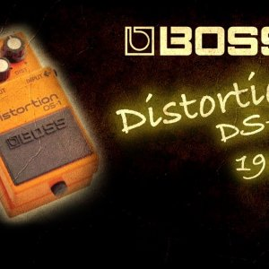 Boss DS-1 Distortion 1982 MIJ