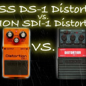 Comparison #15: Boss DS-1 Distortion vs. Arion SDI-1 Distortion