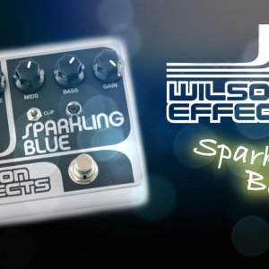 Wilson Effects Sparkling Blue Distortion