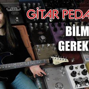Gitar Pedalları ve Efektleri Nedir, Ne İşe Yarar? (Reverb, Delay, Wah, Phaser, Flanger, Compressor)