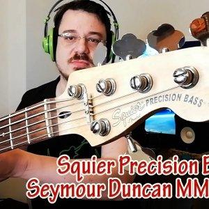 Squier Precision Bas Gitar - Seymour Duncan Modifiyeli