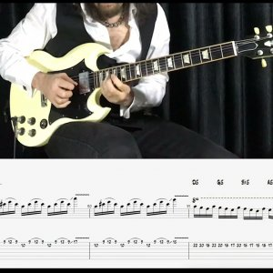 Şehnaz Longa Tutorial - With Tab,Score and Backing Track (Transcription by Arif DenizToker)