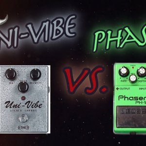 Comparison #19: Uni-Vibe vs. Phaser