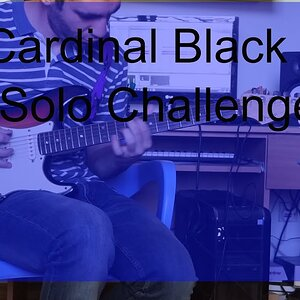 Cardinal Black Solo Challenge - Tell me How it feels  Solo  Challenge #CardinalBlackSoloChallenge