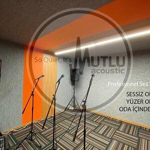 Bu Akustik Stüdyo Kabini Neden Mükemmel?  Yüzer Oda, Oda İçinde Oda, Sessiz Oda