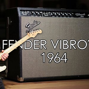 Stevie Ray Vaughan'ın Amfisini Çaldım ( 1964 Fender Vibroverb )