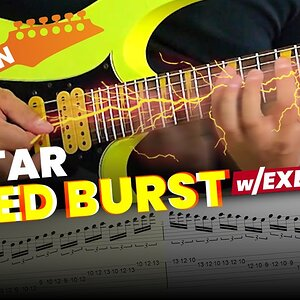 5 Guitar Speed Burst Exercises to Increase Picking Speed (Türkçe Altyazılı)