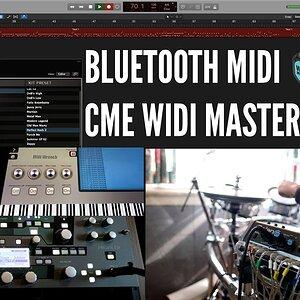 Bluetooth MIDI ile Kayıt ve Gitar Prosesörü Kontrol Etmek | CME WIDI Master
