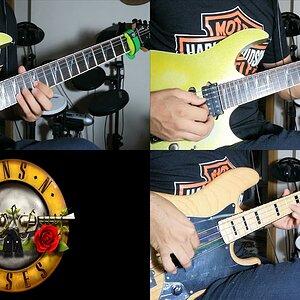Sweet Child O' Mine(Guns n' Roses) -Halil YAVUZ_Guitar Cover