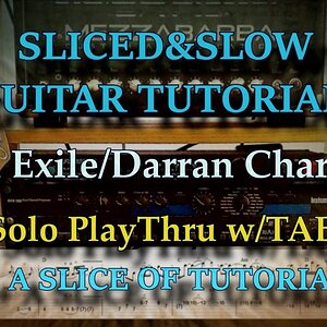 Ep17. IN EXILE (solo #1) - (Darran Charles) guitar solo play through w/TABLATURE!
